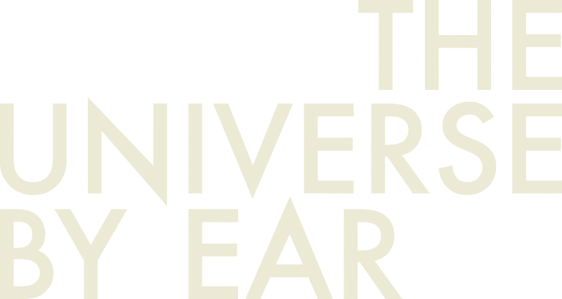 The Universe By Ear Logo