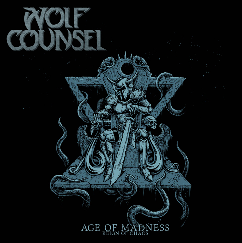 WolfCounsel - Age Of Madness Reign Of Chaos frontcover small rgb for web