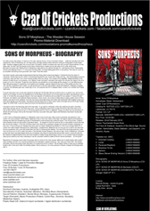 Sons Of Morpheus cover